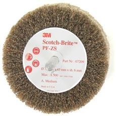Scotch-brite Pennello Pf-zs Medio Diametro Di 75 Mm X 5