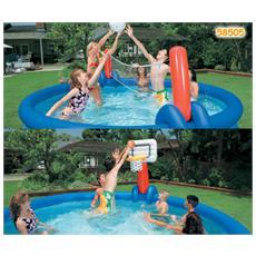 58505 Set Volley-Basket Easy 305-366 Cm