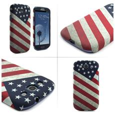 "US Flag 4.8"" Cover Blu, Rosso, Bianco"