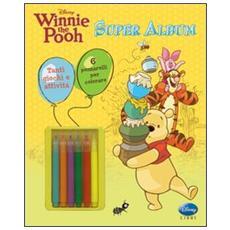 Winnie the Pooh. Super album. Con gadget