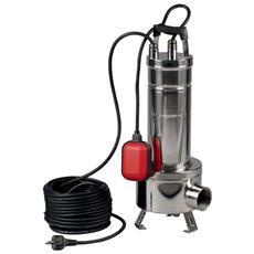 Feka Vs 750 M-a Pompa Centrifuga Sommergibile In Acciaio Inossidabile Con Galleggiante E Girante A Vortice Liquido Per Drenaggio Acque Reflue 0,75 Kw / 1 Hp Monofase