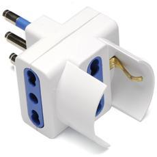 G&BL TRSCH Tipo L (IT) Tipo L (IT) Bianco adattatore per presa di corrente