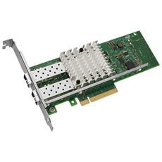 X520-DA2, Cablato, PCI-E, Fibra, 10000 Mbit / s, 10 Gbit / s, 10000 Mbit / s