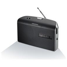 Radio Portatile Music 60 GRN1500 - Nero / Argento