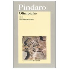 Olimpiche. Testo greco a fronte