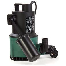 Nova 300 M-a Sv - Pompa Sommergibile Con Galleggiante Per Drenaggio Acque Chiare Ad Uso Domestico 0,22 Kw / 0,3 Hp Monofase Con Albero Pompa In Acciaio Inox Speciale