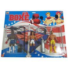 Gioco Box Sacco Action Figures Palestra Combattimento Sport Abilita' Scatola Di Societ〠3+