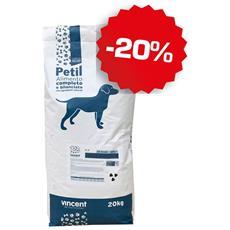 Crocchette Per Cani Da 20kg Mantenimento Economico