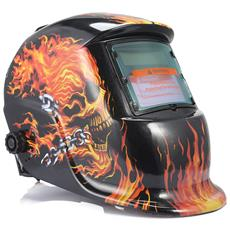 Solar Auto Oscuramento Saldatura Maschera Casco Tappo Di Saldatura Elettrica