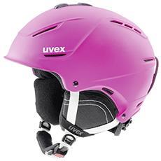 p1us 2.0 Sci, Snowboard / Sci Rosa casco protettivo