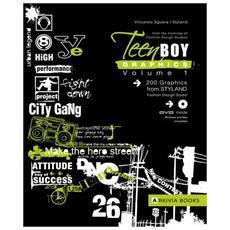 Teen boy graphics. Con DVD. Vol. 1