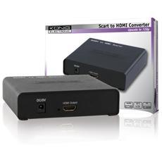 Converte il segnale analogico da SCART in un segnale digitale HDMI