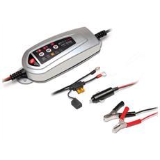 Caricabatteria e Mantenitore Di Carica per Batterie auto e moto Trattore Barca 12V 3,5A Electromem HF500