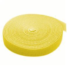 ISWT-ROLL-164YE - Rotolo di Velcro Fermacavi Lunghezza 4m Larghezza 16mm Giallo