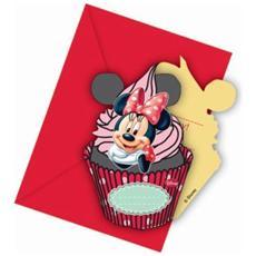Minnie's Cafe' - 6 Inviti Con Busta