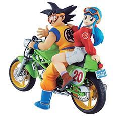 Figure Dragonball - Goku & Chi-Chi (Bike)