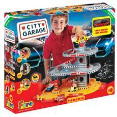 City Garage - Garage 3 Livelli + 1 Veicolo - Faro