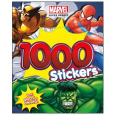 1000 stickers. Marvel super heroes
