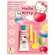 Bolle di plastica Baloo Ball blister Hello Kitty 140100