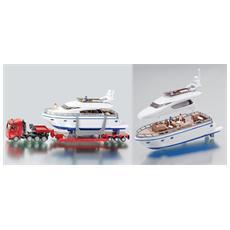 D / C Camion+rimorchio+yacht1:87