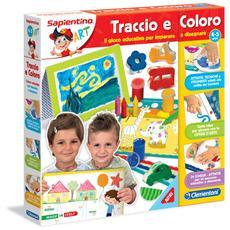 Traccio e Coloro Gioco Educativo per Ragazzo / Ragazza
