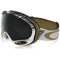 Maschera A-frame 2.0 Bianco Nero Taglia Unica