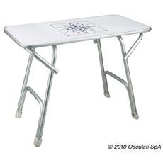 Tavolo pieghevole rettangolare 88 x 60 cm