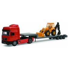 DieCast 1:43 Camion Man F2000 Lowboy T. With Backhoe 15393