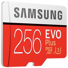 MicroSD da 256GB UHS classe 10 Adattatore incluso