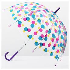 Ombrello A Cupola Multicolore