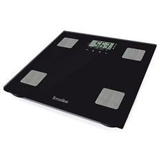Bilancia Pesapersone Elettronica Digitale 160 kg Colore Nero