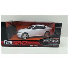 Cooldriver - Macchina Radiotelecomandata - Modello Coupe - Bianca - Scala 1:24