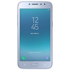 "Galaxy J2 2018 Blu Argento Dual Sim Display 5.0"" QHD Quad Core Storage 16GB +Slot MicroSD WiFi - 4G Fotocamera 8Mpx Android - Italia"