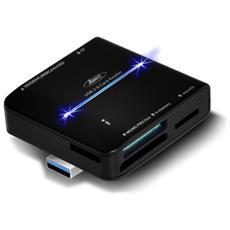 CR-008U3 USB 3.0 Nero lettore di schede
