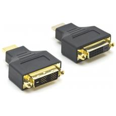 Adattatore Video HDMI / DVI Colore Nero
