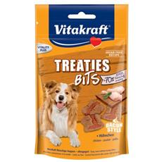 Snack per cani Treaties Bits Pollo Bacon Style 120 gr