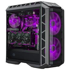 Case MasterCase H500P ATX / MEATX / Micro-ATX / Mini-ITX / 2 x USB 3.0 / 2 x USB 2.0 / 1 x Mic / 1 x Cuffie / Colore Nero con Finestra in Vetro Temperato