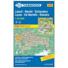 Val Martello-Silandro-LacesMartell-Schlanders-Latsch 1:25.000