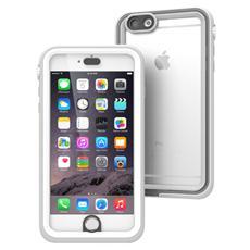 Cover Waterproof Impermeabile Antiurto iPhone 6 Plus - Bianco e Mistic Grigio