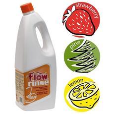 Ecolkem Flow Rinse1 Lt Igienizzante Per Wc Chimici Profumazione Fragola