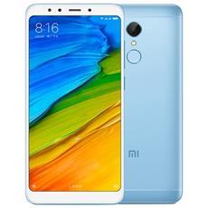 "Redmi 5 Plus Blu 32 GB 4G / LTE Dual Sim Display 5.99"" Full HD+ Slot Micro SD Fotocamera 12 Mpx Android Italia"