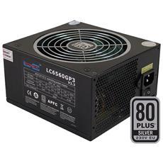 Alimentatore PC LC6560GP3 V2.3 650 W Colore Nero