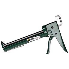Pistola Professionale per Cartuccia Silicone con Cremagliera Maurer
