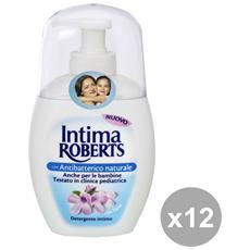 Set 12 Sapone Intimo Antibatterico 200 Ml. Saponi E Cosmetici