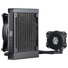Dissipatore MasterLiquid Lite 120 Intel LGA 775>2011 AMD AM4> FM2 1x120x120x25mm 30dBa 2000Rpm