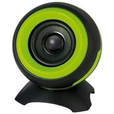 Set di Altoparlanti Portatili Bluetooth / USB 2.0 Colore Verde