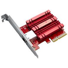 Scheda di Rete XG-C100C 1 x Gigabit Ethernet (compatibile con versioni 5/2.5/1g / 100 Mbps) Interfaccia PCi-E + QoS integrata