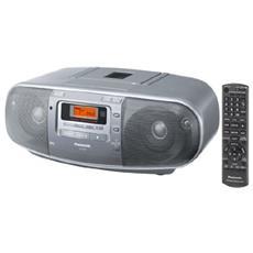Radioregistratore Digitale Portatile AM / FM con Lettore CD e Display LCD RICONDIZIONATO