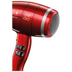 SP4 RC Swiss Power 4Ever Asciugacapelli Professionale Potenza 2400 Watt Colore Rosso