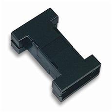IGPE 09-PL-BL Custodia per D-Sub 9 / 9 poli in plastica Colore Nero